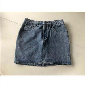 Vintage guess denim skirt blue 31